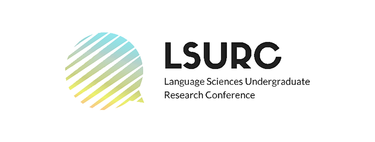 An image of the LSURC logo, a multicoloured speech bubble