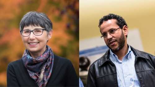 Dr. Janet Werker and Dr. Muhammad Abdul-Mageed
